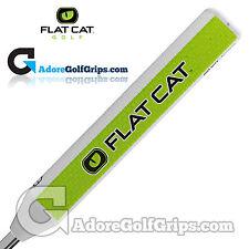 Flat Cat Golf Big Boy 12 Inch Giant Putter Grip - White / Green / Black + Tape