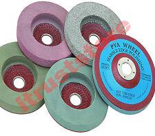 "5PC Abrasive Polisher Wheel Buffer Disc Set 4"" For Masonry Marble Rock Polishing"