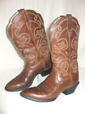 ARIAT Heritage Woman's Brown Leather Cowboy  Boots Style 15702 Size 6.5 B