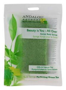 Andalou Naturals - Beauty is You All Over Konjac Body Sponge X 6