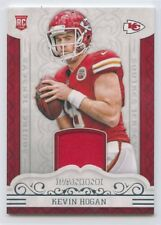 2016 PANINI ROOKIE RC GAME-USED JERSEY #37 KEVIN HOGAN CHIEFS *52484