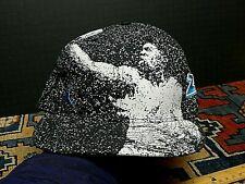 Rare Black/White Air Jordan 23 Paint Splatter Hat Cap Fitted 7 1/4 UNWORN PERF
