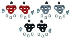 LOOK KEO Compatible Pedal Cleats for Road Bike RED GREY BLACK ROTO Plastic screw
