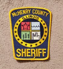 McHenry County Illinois Sheriff Shoulder Patch