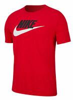 Nike Herren Sportshirt Fitnessshirt Freizeitshirt T-Shirt NIKE NSW ICON TEE rot