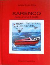 ACHILLE BONITO OLIVA SARENCO DETTO ANCHE IL POETA PREARO EDITORE 2001