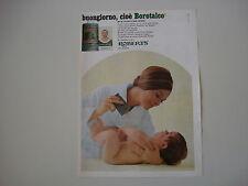 advertising Pubblicità 1968 BOROTALCO ROBERTS