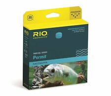 RIO PERMIT WF-10-F #10 WT FWD FLOATING TROPICAL SALTWATER  FLY LINE SAND/ BLUE