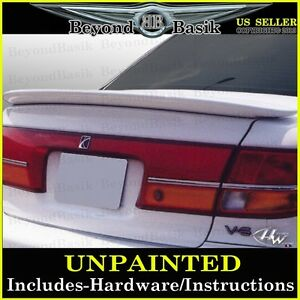 2000 2001 2002 Saturn LS Factory Style Spoiler Wing Fin Tail UNPAINTED