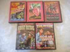 5 DVDs B-Westerns Serials All Tim McCoy DVD-R  LIKE NEW