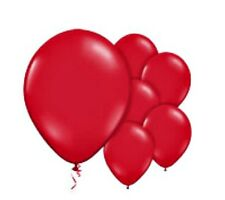 "10pc PARTY RED BALLOONS birthday helium quality 30cm 12"" kids adult decor"