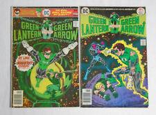GREEN LANTERN / GREEN ARROW #90-91 * DC Comics Lot * 2 comic books 1976