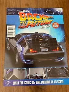 Build the Back To The Future Delorean 1:8 Scale Eaglemoss Collection ISSUE 60