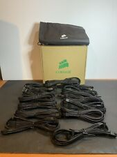 Corsair Sleeved Cables/ Type 3/ NIB/ 15 In Total