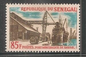 Senegal #235 (A44) VF MNH - 1964 85fr Mineral Dock, Dakar / Industry