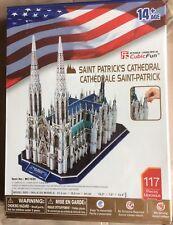 CubicFun Saint Patrick's Cathedral  3D Puzzle 117 Pieces Ages 14+ NEW