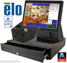 ALDELO2013 PRO QUICK SERVICE RESTAURANT ALL-IN-ONE COMPLETE POS SYSTEM NEW