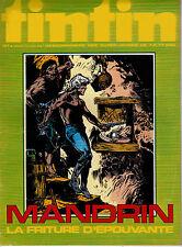 BD Comics Magazine Hebdo Journal Tintin No 35 30e 1975 Mandrin