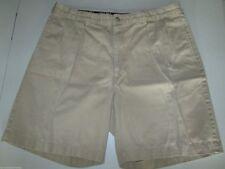 Polo Golf Ralph Lauren Shorts Men's Pleated Khaki Chinos Size 36 100% Cotton