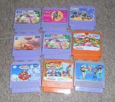 Lot 9 Vtech V.Smile V.Tech Learning System Video Games Learning Cartridges
