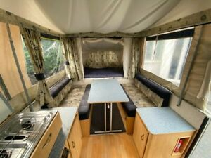 pennine stirling trailer tent 6 berth with awning. Excellent condition
