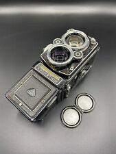 Rolleiflex 2.8f foto-cámara carcasa gemelo lente Zeiss planar 80mm f/2.8