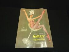 Vintage 1960 Holiday on Ice Souvenir Program Signed Russ HTF