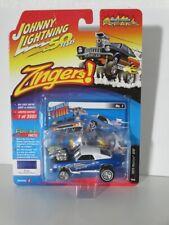 Johnny Lightning 1:64 Pontiac GTO (Zingers) 1973 zinger blue JLSF014A Brand new