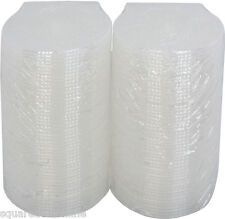 (100) CDBP42CSCL Clear Clam Shell Style CD Jewel Cases Empty 4.2mm Replacement
