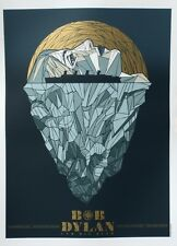 BOB DYLAN PHILADELPHIA 2012 TODD SLATER signed limited edition concert print 125