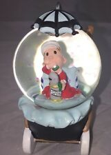 Popeye Sweet Pea Eating Spinach Stroller Westland Giftware Water Globe #15134