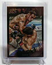 2011 Topps UFC Moment Of Truth Black Debut Tony Ferguson RC /88