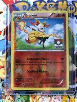 Braixen 12/124 Uncommon Reverse Holo XY Fates Collide NM Pokemon Stamped! - NM17