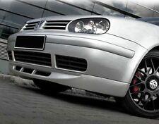 VW Golf 4 Spoiler Lame De Pare-Choc Avant 25ème Anniversaire Noir Mat GTI 97-06