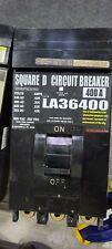 """Square D type"" La36400 400 Amp 600 Volt Thermal Magnetic Circuit Breaker"