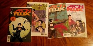 Aeon Flux #1-4 (2005, Dark Horse Comics)