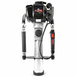 Titan PGD2875 3.25 In Barrel 1.3 HP Gas Powered Fence Post Driver Pole Pounder
