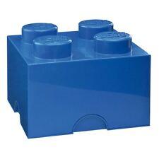 LEGO LARGE STORAGE BOX NEW FURNITURE - 4 BLUE BRICK