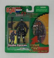 GI Joe vs Cobra Snake Eyes Spy Troops 2003 action figure