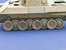 Panzer Art 1/35 Burnt Out Wheels for German PzKpfw V Panther Tank WWII RE35-326
