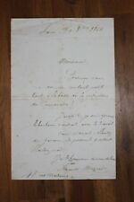 ✒ L.A.S. Auguste MARCADE à Aurélien SCHOLL - demande une place au Camarade