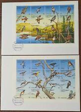 3109 - Georgia - 1995 - Envelope - birds - FDC - 2 pieces - large envelope