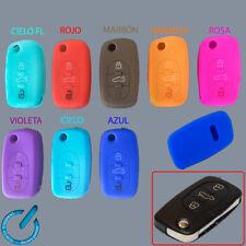 FUNDA SILICONA LLAVE key fob ciave cle silicone AUDI A2 A3 A4 A6 A8 de 3 BOTONES