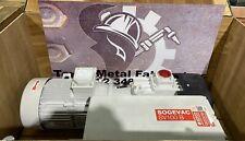 Leybold Sogevac Sv100b Single Stage Oil Sealed Rotary Vane Pump