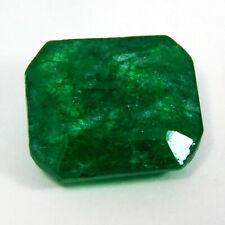 IGI CERTIFIED 7 Ct Colombian Green Emerald Natural Untreated Genuine Gemstone