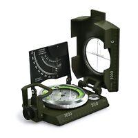 Brújula Militar Impermeable Profesional Proster Metal para Apuntar Clinómetro