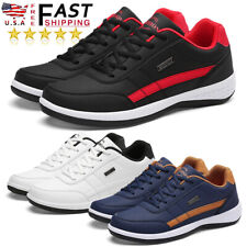 Men's Tourism Shoes Leather Sneakers Tennis Cross Training Outdoor Trail Running