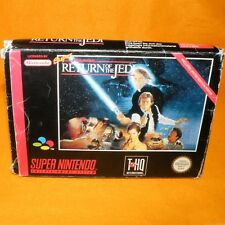 Super Nes Snes Star wars regreso del Jedi Carro En Caja