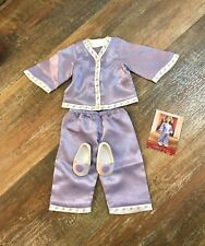 American Girl Nellie's Pajamas Lavender PJ's and Slippers *Doll Not Included*