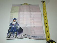 Phantasy Star Collection Weapon and Armor Legend - Nintendo GBA Foldable